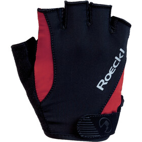 Roeckl Basel Guantes, black/red